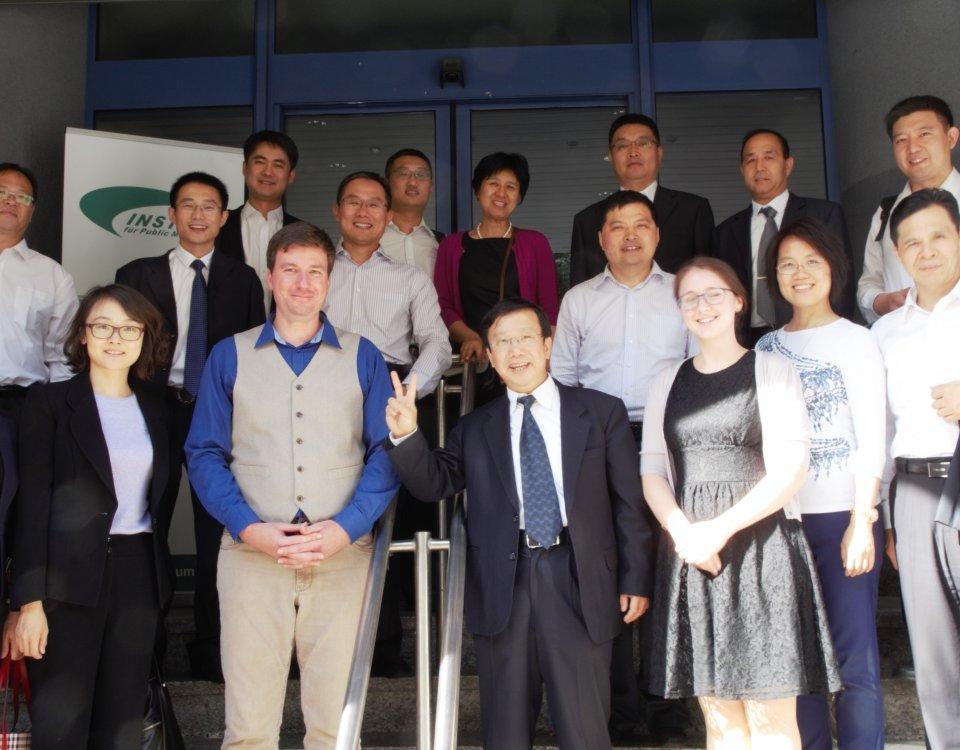 Besuch der Chinesischen Delegation beim IPM
